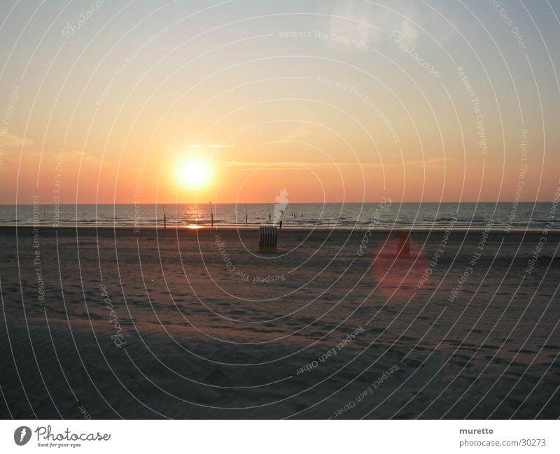Sun Ocean Beach Sand Europe Island North Sea Beach chair Norderney