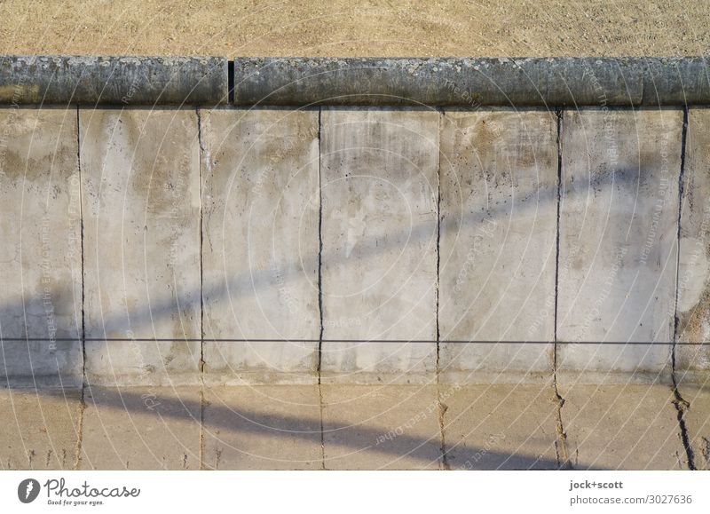 Walls the Berlin Wall Sightseeing GDR Downtown Berlin Tourist Attraction Monument The Wall Concrete Authentic Historic Original Gray Moody Testing & Control