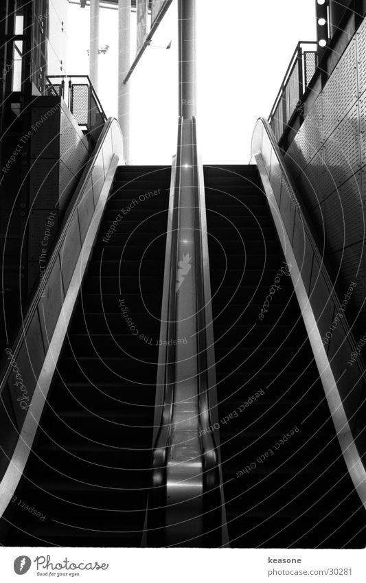 White Black Movement Architecture Lens Escalator Museum of fine art