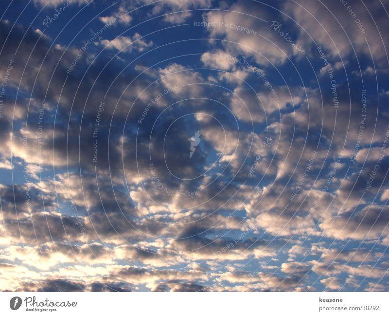 Sky White Sun Blue Clouds