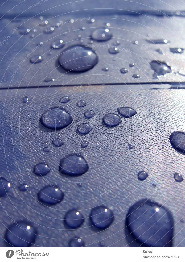 Water Rain Drops of water Table