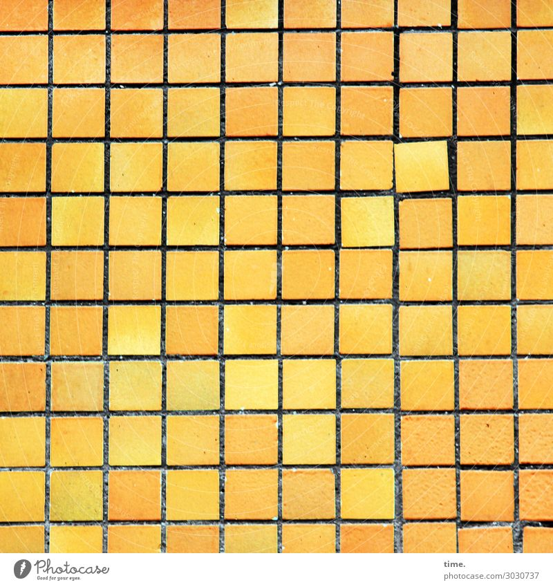 deviant Wall (barrier) Wall (building) Facade Tile Stone Line Square Historic Uniqueness Town Yellow Life Endurance Unwavering Orderliness Nerviness Esthetic