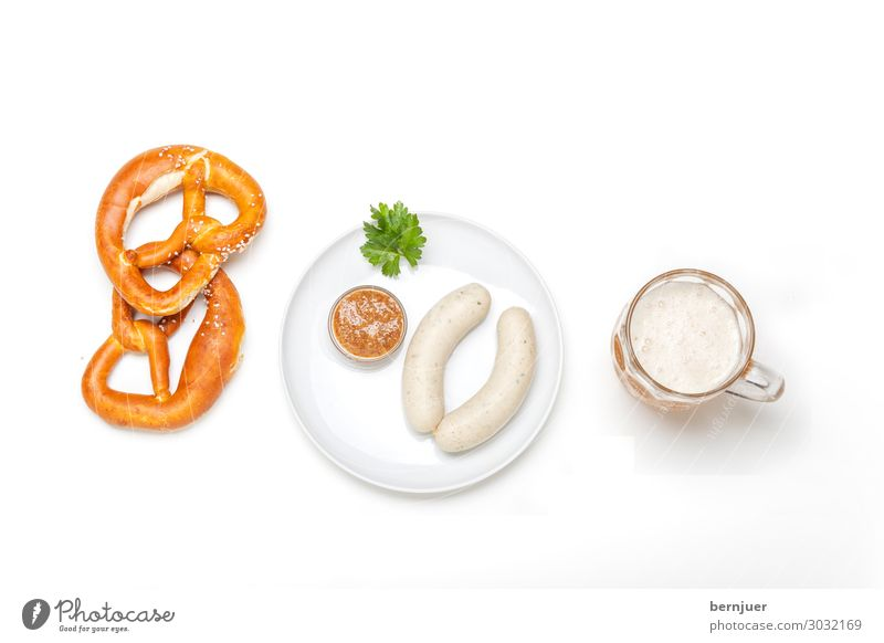 White Background picture Wood Fresh Beverage Tradition Breakfast Munich Beer Plate Meal Bavaria Alcoholic drinks Lunch Oktoberfest Sausage