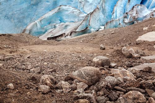 Vacation & Travel Blue Environment Cold Brown Rock Earth Change Elements Environmental protection Surrealism Bizarre Glacier Climate change