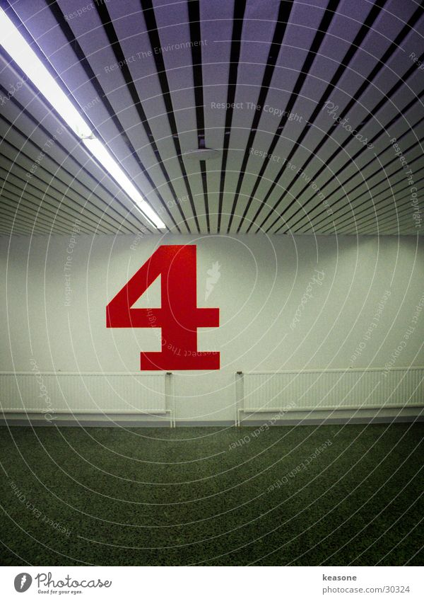 Colour Concrete Digits and numbers Asphalt 4 Garage Parking garage Underground garage