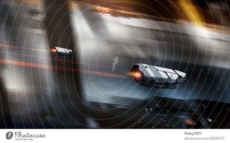 Town Dark Black Brown Facade Gray Flying Moody Technology Adventure Future Speed Illustration Logistics Universe Futurism