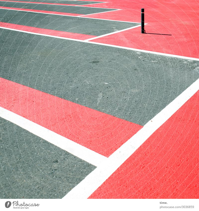 Town Colour Red Loneliness Stone Together Gray Moody Design Line Transport Signs and labeling Protection Safety Stripe