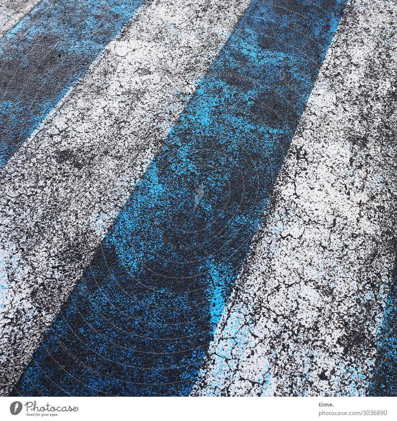 Old Blue Town White Dark Street Life Dye Lanes & trails Stone Design Transport Dirty Transience Broken Change