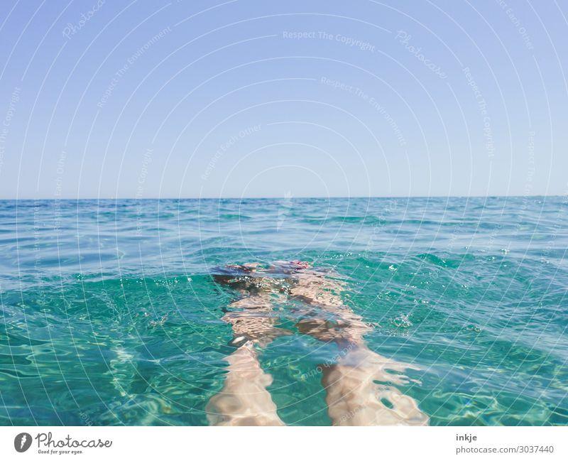bob up and down Lifestyle Leisure and hobbies Vacation & Travel Tourism Summer Summer vacation Sun Ocean Human being Feminine Legs Feet Woman's leg Women`s feet