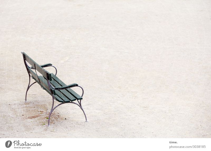 Resting place | UT Kassel Places Park bench Romance Serene Calm Modest Fatigue Loneliness Exhaustion Esthetic Design Discover Relaxation Emotions Communicate