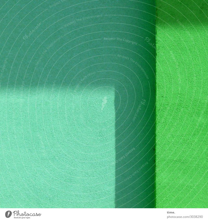 turquoise|green Wall (barrier) Wall (building) Plaster Colour Stone Friendliness Bright Dry Town Green Turquoise Esthetic Design Elegant Experience Expectation