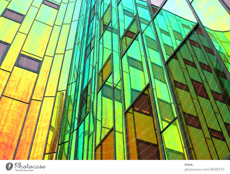 Town Beautiful Window Architecture Wall (building) Building Art Wall (barrier) Facade Moody Living or residing Design Line Dream High-rise Elegant