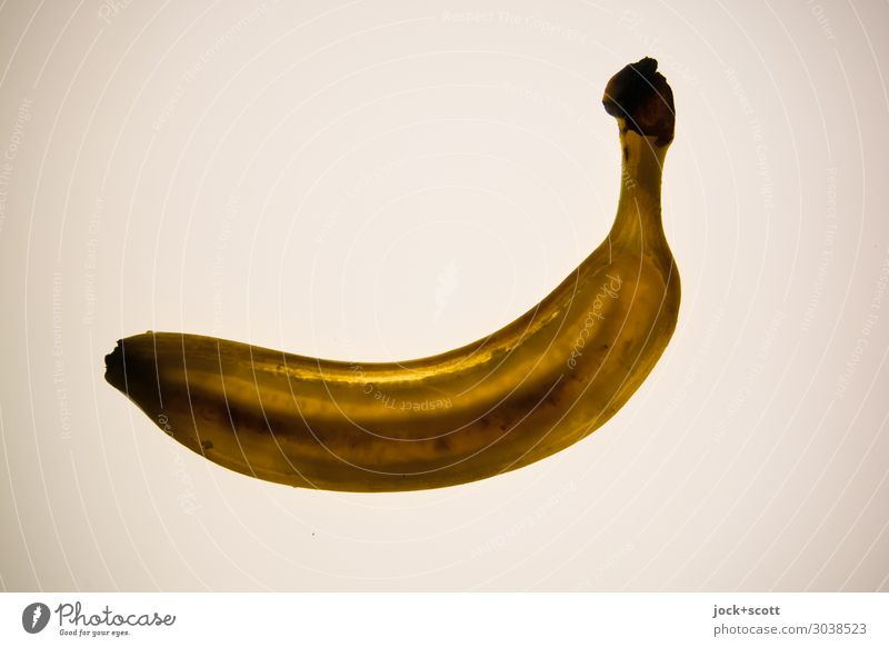 stripe of banana Colour Eroticism Healthy Yellow Natural Style Moody Design Nutrition Sweet Illuminate Fresh Power Perspective Delicious Stripe