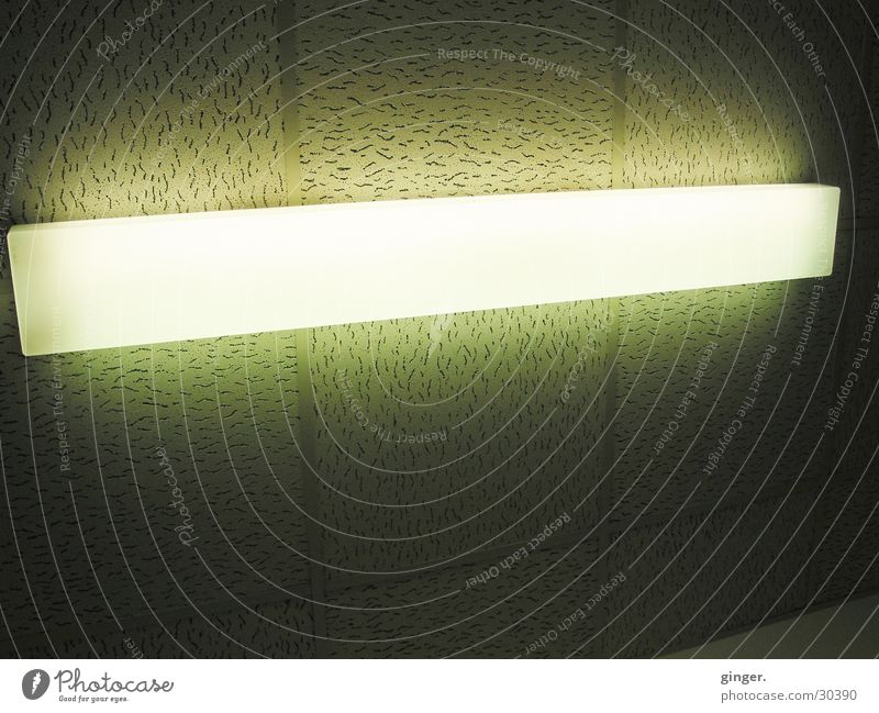 White Dark Bright Lighting Lamp Gloomy Simple Long Illuminate Blanket Neon light Hard Hideous Ceiling Comfortless Aura