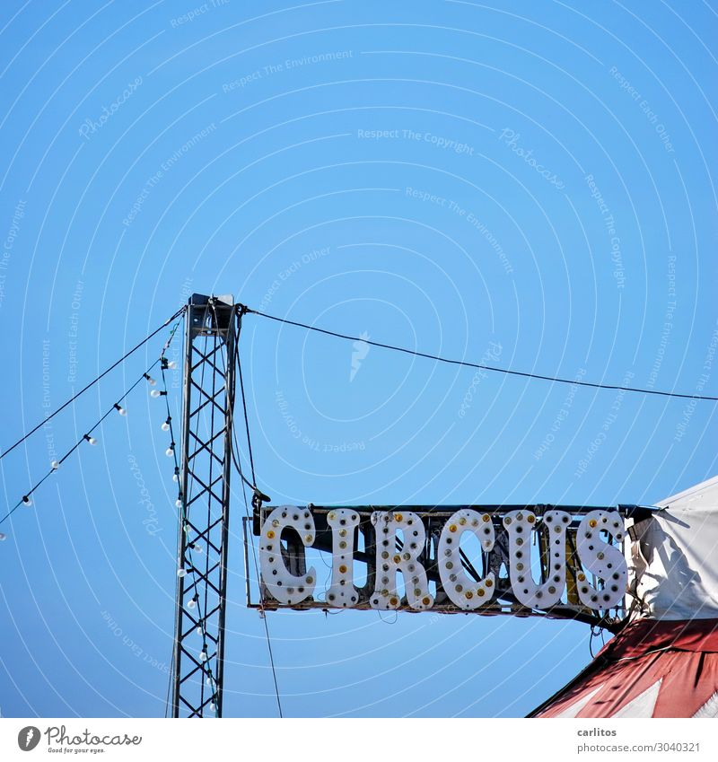 Grid structure vertical Circus Advertising Signage Clue Lighting Illuminate Tent Construction Joy Entertainment Leisure and hobbies Circus ring Pole Pylon Sky