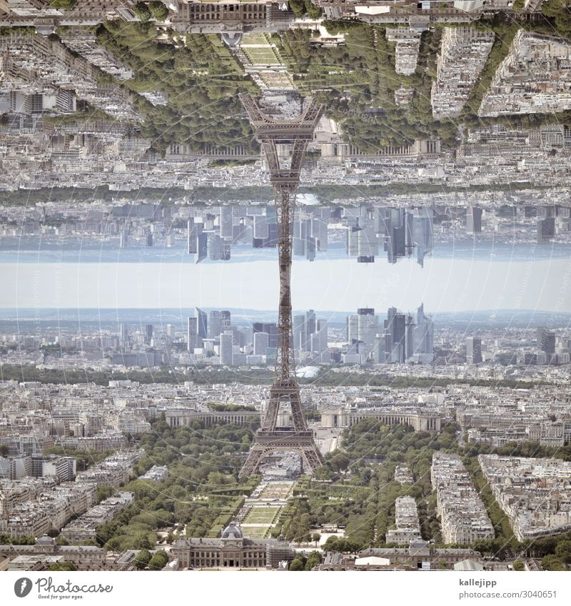 Vacation & Travel Town Tourism Exceptional Earth Horizon 2 Transport High-rise Crazy Tower Tourist Attraction Landmark Futurism Capital city France