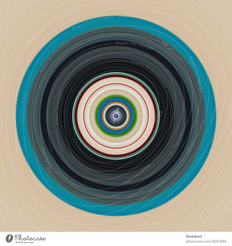 Colour Design Circle Round Harmonious Furniture Yoga Hypnotic Compass (drafting)