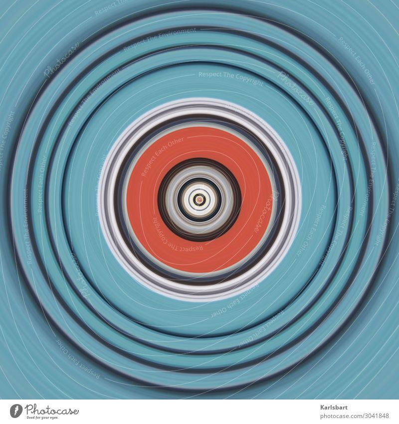Colour Design Circle Round Harmonious Yoga Hypnotic Compass (drafting)