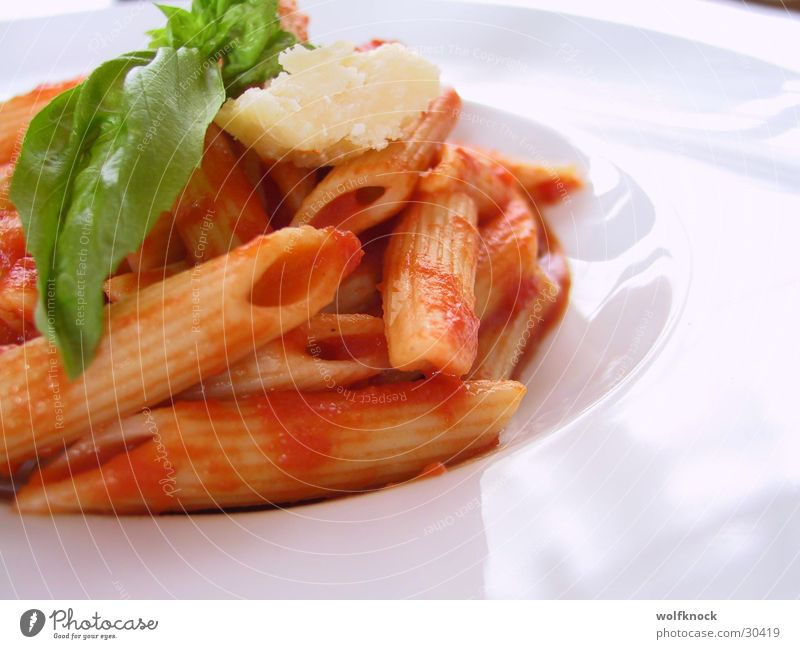Nutrition Italy Noodles Meal
