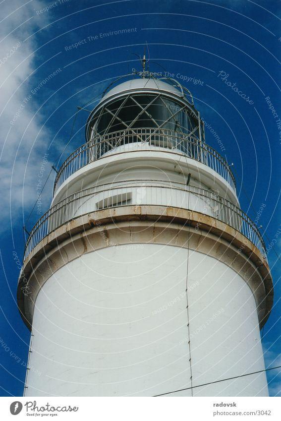 Majorcan lighthouse Lamp Light Architecture Island Sky Blue