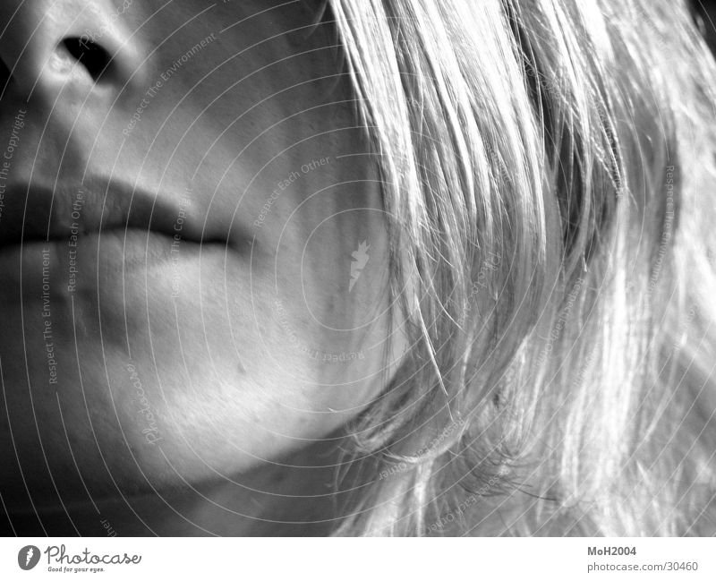 Woman Face Hair and hairstyles Mouth Blonde Chin