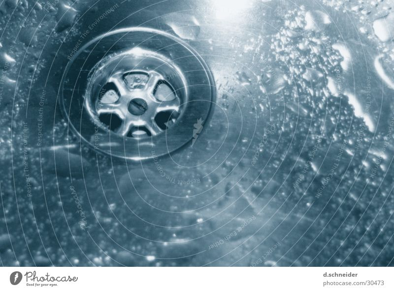 Water Drops of water Wet Kitchen Clean Living or residing Washing Drainage Kitchen sink