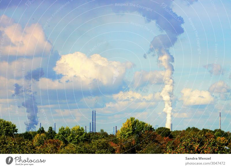 Weather Dirty Beautiful weather Industry Climate Factory Environmental protection Climate change Hideous Gigantic The Ruhr Thermal power station Carbon dioxide