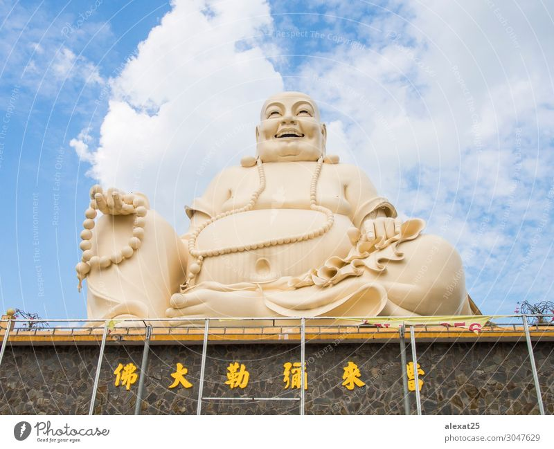Vinh Trang Pagoda Vacation & Travel Decoration Old Peace Religion and faith Asia asian Buddha Buddhism delta massive meditate Mekong my Rest Statue