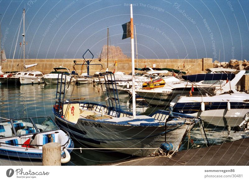 fishing boat Watercraft Angler Ocean Vacation & Travel Navigation Harbour Blue