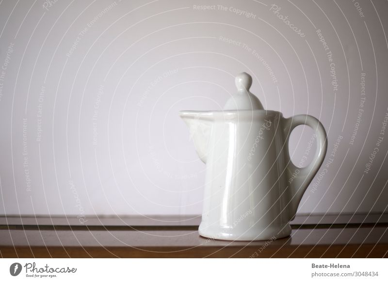 retro can Hot drink Milk Hot Chocolate Coffee Crockery Jug Coffee pot Lifestyle Style Living or residing Watering can Decoration Collection Earthenware Retro