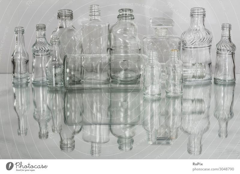 Translucent glass bottles. Food Beverage Alcoholic drinks Spirits Bottle Glass Lifestyle Shopping Design Work and employment Economy Industry