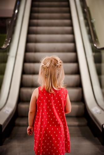 a staircase that moves? Lifestyle Shopping Elegant Style Design Calm Playing Human being Feminine Child Toddler Girl Infancy 1 1 - 3 years Art Observe Threat