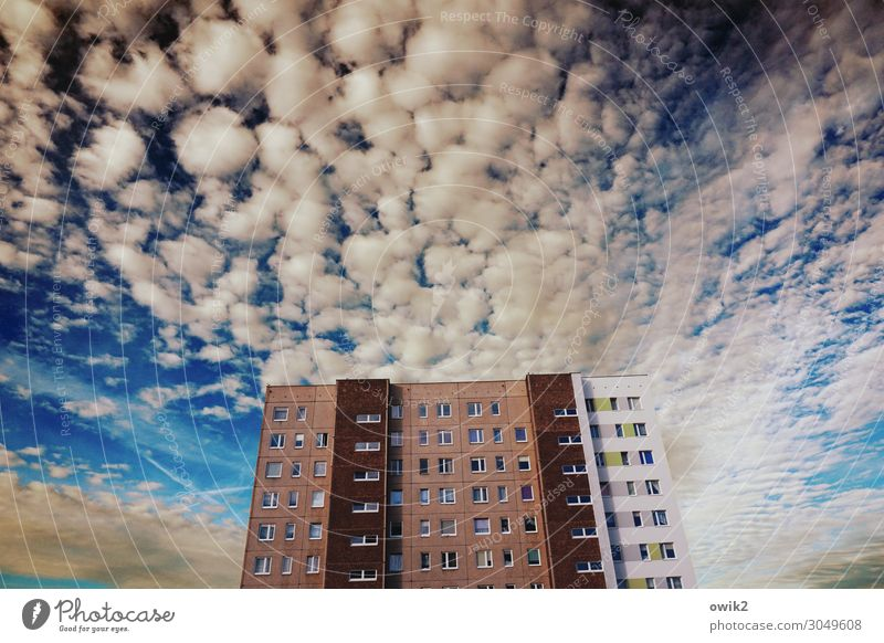 skyscrapers Sky Clouds Beautiful weather Kolberg Kolobrzeg Poland Eastern Europe Small Town Outskirts Populated House (Residential Structure) High-rise