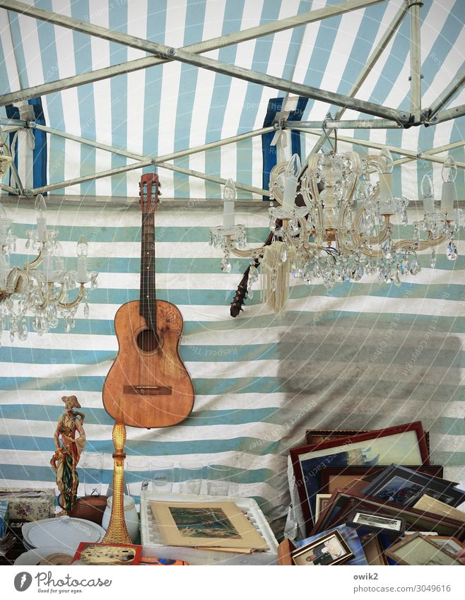 flea market Guitar Kitsch Odds and ends Souvenir Collection Figure Image Picture frame Chandelier Muddled Wood Glass Metal Plastic Hang Lie Stand Sell