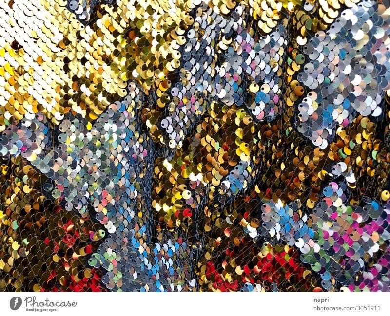 GLAMOUR I Style Glittering Hip & trendy Uniqueness Multicoloured Gold Silver Joy Creativity Joie de vivre (Vitality) Fashion Sequin Glamor Background picture