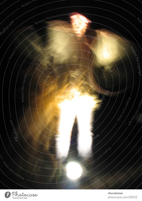 Plays of light02 Shadow play Long exposure Light Night Winter Movement