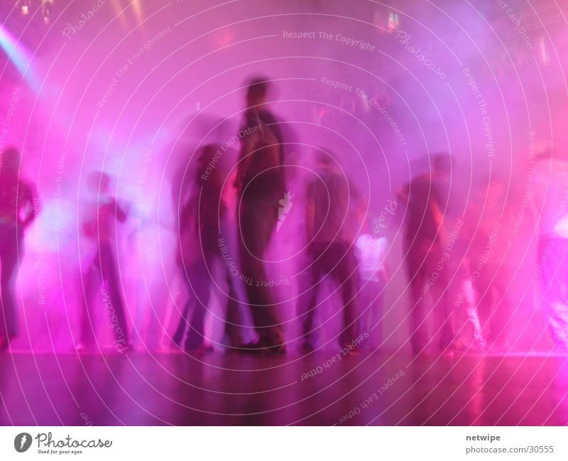 Dancefloor 1 Dance floor Party Event Club Group Music Party goer Pink