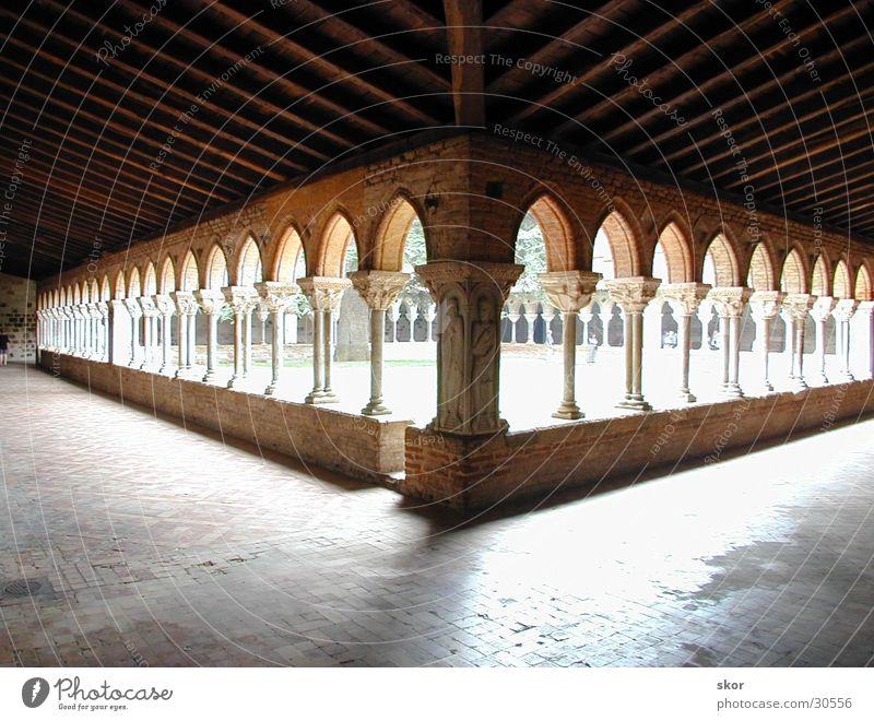 cloisters Visual spectacle House of worship Monastery Corridor