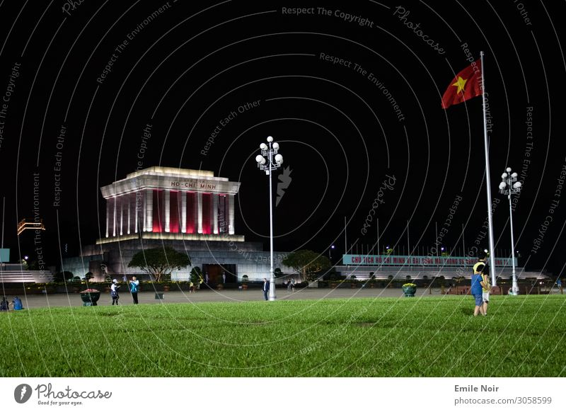 Ho Chi Minh resides here Vacation & Travel Tourism Far-off places City trip Ho Chi Minh mausoleum Vietnam Capital city Manmade structures Architecture Tomb