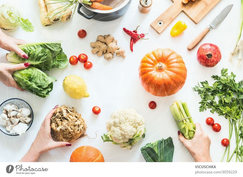 Woman Human being Healthy Eating Hand Food photograph Joy Adults Autumn Style Party Living or residing Design Nutrition Shopping Kitchen