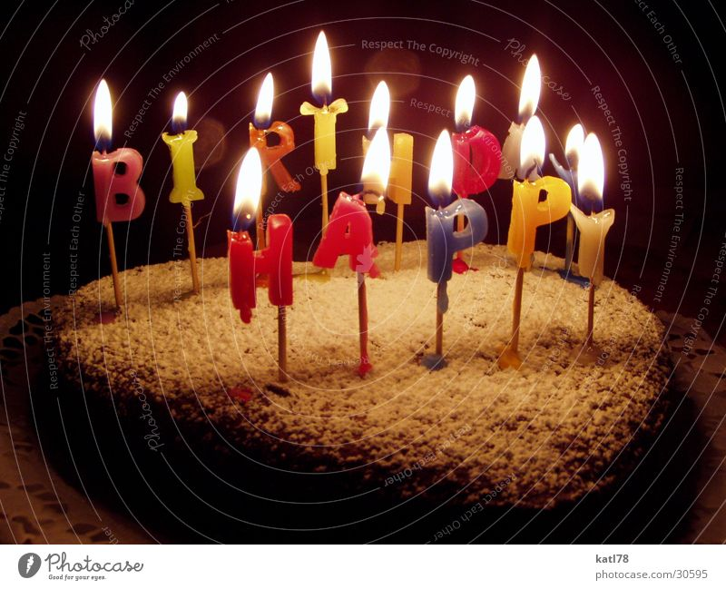 Happy Birthday Cake Nutrition Party Feasts & Celebrations Candle Joy Happiness Enthusiasm Sympathy Friendship To enjoy Birthday cake Good luck Gift Cooking