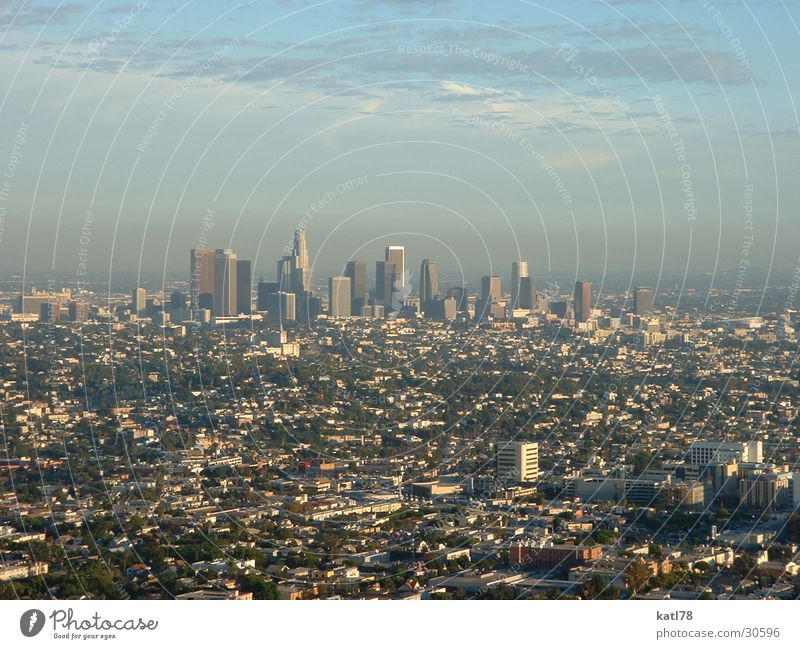 The City of Angels Los Angeles Smog Town California North America