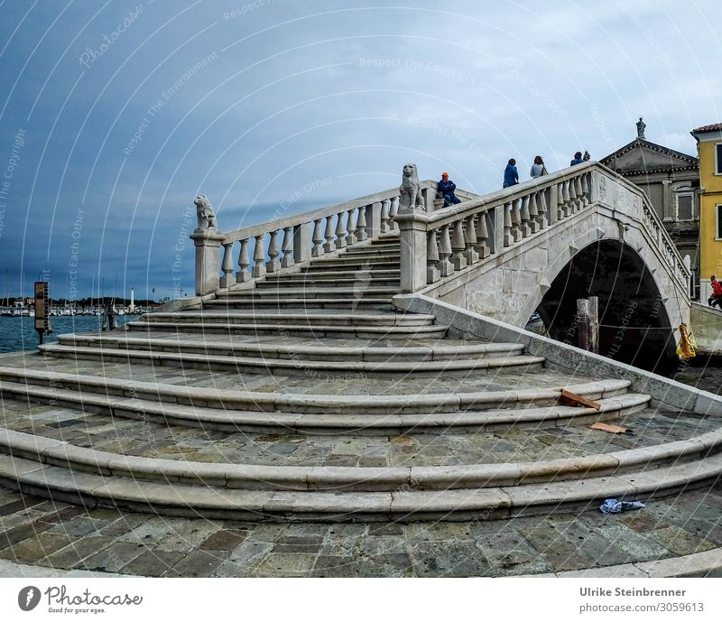Human being Vacation & Travel Town House (Residential Structure) Lanes & trails Art Stairs Bridge Italy Tourist Attraction Village Museum Work of art Outskirts