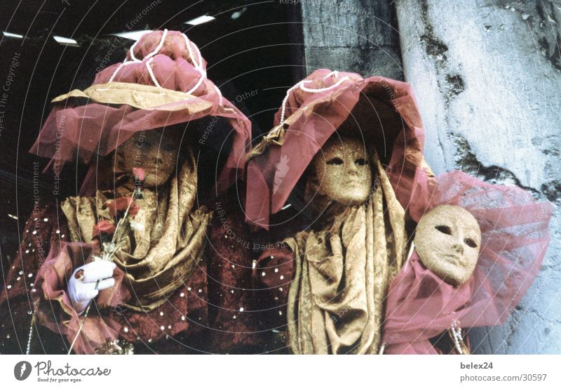 Leisure and hobbies Mask Carnival Hide Venice Italy