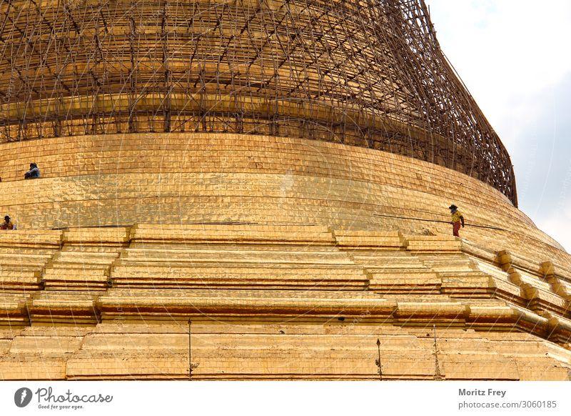 Vacation & Travel Religion and faith Asia Buddhism Myanmar Burmese Stupa Rangoon Shwe Dagon Pagoda