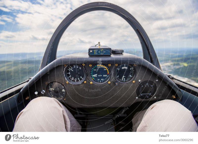 Vacation & Travel Sports Transport Esthetic Wind Sailing Airport Gliding Sailplane Cockpit