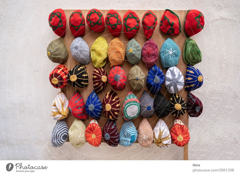 Vacation & Travel Life Wall (building) Tourism Wall (barrier) Together Arrangement Authentic Shopping Cap Trade Selection Offer Morocco Essaouira