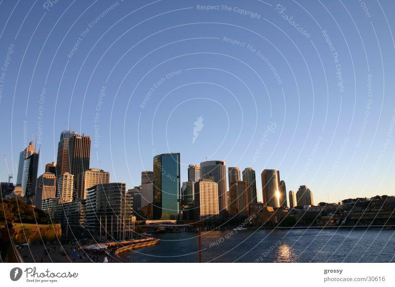 sydney harbour Sydney Town Blue Skyline