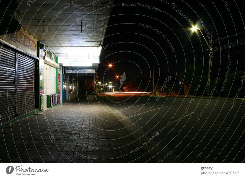 Suburbian nights pt.1 Night Store premises Long exposure Sydney Historic suburbia