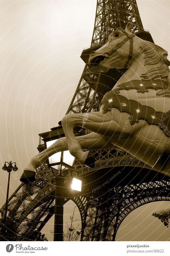 Architecture Tall Paris Lantern Eiffel Tower
